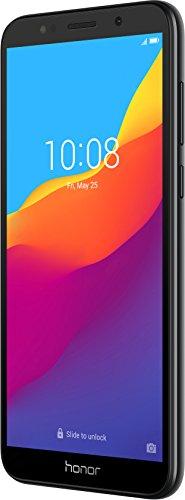 Honor 51092MPY 7S Smartphone (13.84 cm (5.45 Zoll) rahmenloses HD+ Display, 16 GB interner Speicher und 2 GB RAM, 13 MP Haupt- und 5 MP Frontkamera, Dual-SIM, Android 8.1) Schwarz