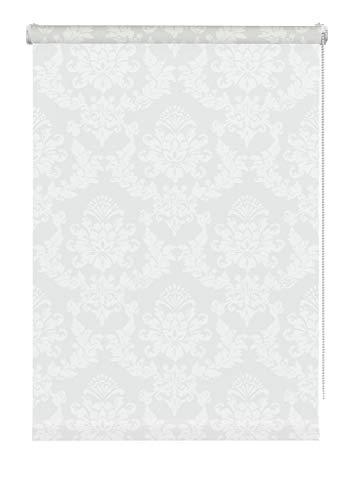 Gardinia Persiana Enrollable Ornamental, Color Blanco, 75 x 175 cm