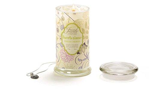 Secret Jewels Candle Jar, 16-Ounce, Fresh Herb