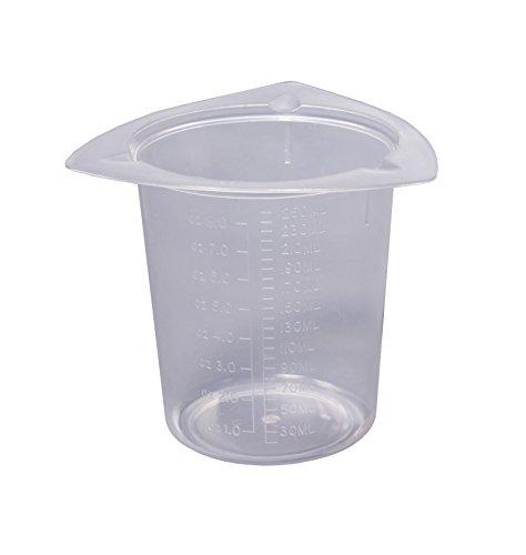 Camlab plastica CP/BK-250 Cornered Tri-Bicchiere per bambini, 250 ml, confezione da 25 pezzi