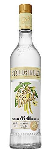 Stolichnaya Stolichnaya Vodka SPI STOLI VANIL Flavored Premium Vodka 37,5% Vol. 0,7l - 700 ml