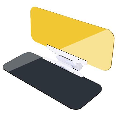 parasol universal y visor nocturno de TacVisor Visera antideslumbrante para parabrisas de d/ía y noche Kitchen-dream Visera antideslumbrante para parabrisas de autom/óviles