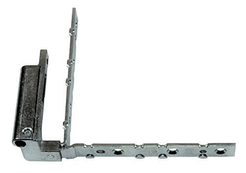 GU Eckwinkel/Ecklager 115x115mm, 6-28023 oder 6-28023-00-L-1 (Aufnahme: 9-36610-L, Schenkel 9-36612 & 9-36613/1549) DIN Links
