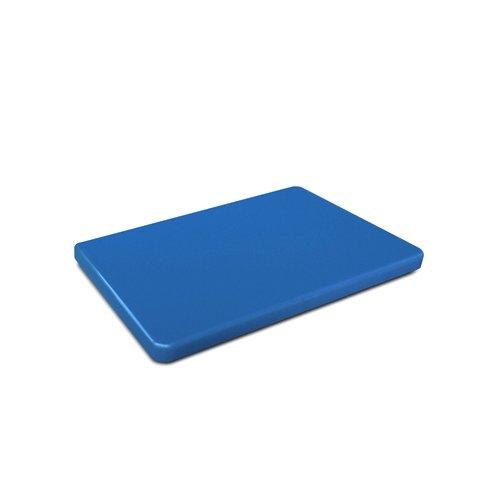 KESPER 30142 Planche à découper pour Les Poissons 32,5x26,5x1,5cm en Bleu, Plastique, 15 cm