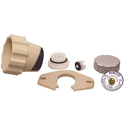 NIBCO RG5000K 95C Frost-Proof Sillcock Hardware Repair Kit, Screw, Siding Wedge, And Vacuum Breaker