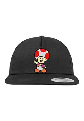 Youth Designz Kinder Junior Cap Kappe Modell Toad - Schwarz