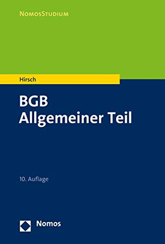 BGB: Allgemeiner Teil (Nomosstudium)
