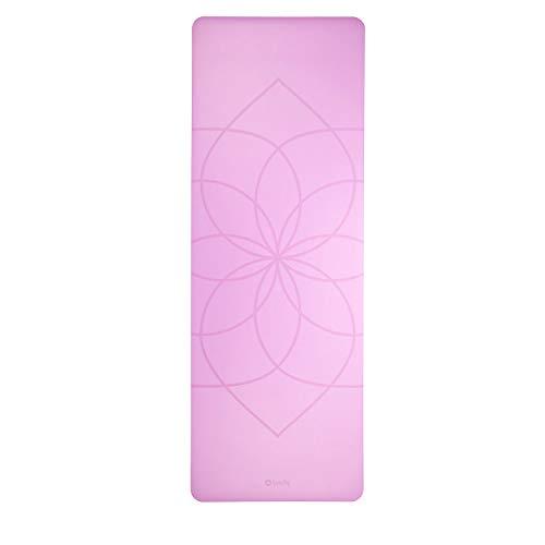Bodhi Design Yogamatte Phoenix Mat, lila mit Living Flower