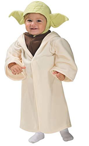 Rubies 's oficial Disney Star Wars Yoda–infantil del bebé del niño