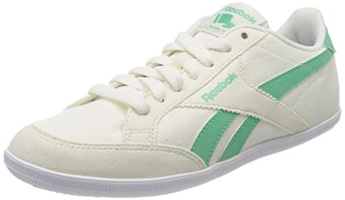 Reebok Royal Transport TX, Zapatillas de Deporte para Mujer, Verde/Blanco (Chalk/Exotic Teal/White), 36 EU