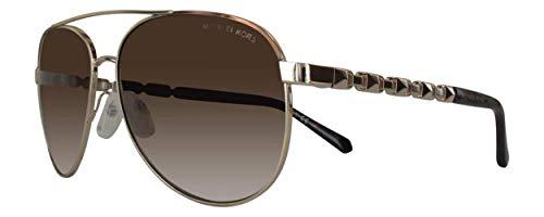 Michael Kors MK1047 San Juan Sonnenbrille 59mm gold braun metall damen