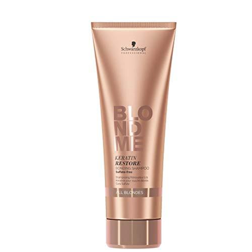 Schwarzkopf Professional BlondMe Erfrischende Keratin Shampoo, 1er Pack (1 x 250 ml)