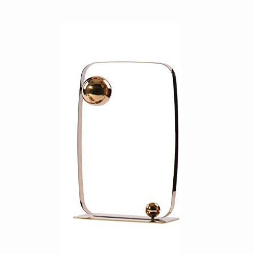 LAZHU Artisanat de bureau, ornements géométriques en acier inoxydable Accueil Salon Chambre à coucher TV Cabinet de vin Etude Décorations transparentes décoration ( Couleur : #1 , taille : A )