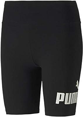 PUMA Women's Short Tight, Black, M