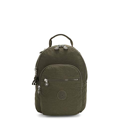 Kipling Women's Seoul Small Backpack, JADED GREEN RM, One Size