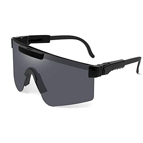 Huabei2 Gafas de Sol Deportivas Gafas de Sol polarizadas Ciclismo Gafas de Sol para Hombres y Mujeres al Aire Libre A Prueba de Viento Eyewear Conducción Shades Anti-UV para Hombres Marco irrompible