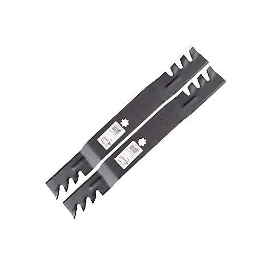 ZFLXH for John Deere Mulching Mower Blades 42'' D100, D110, D120, D130, Z225, Z235, D125