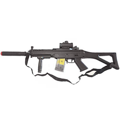 Double Eagle Softair 0,9 Joule Fucile Elettrico Tipo SG552 (M82P)