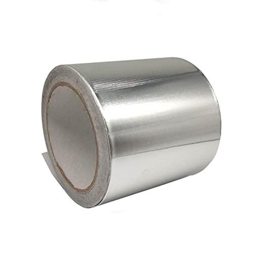 Cintas Adhesivas de Aluminio,Cinta Aislante Adhesiva de Papel de Aluminio,Para Diversos Trabajos en y Tuberías,el Sellado de Conductos,Conductos de aire acondicionado