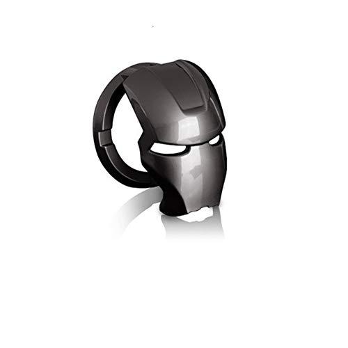 iSpchen Cubierta del Botón de Arranque/Parada del Motor, Botón de Arranque, Cubierta de Encendido, Anillo, Aleación, Interruptor de Motor de Coche Antirrayas, Personaje de Anime 3d
