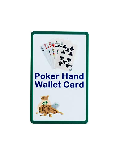 Poker Hand Wallet Card - Learn to Play Cards