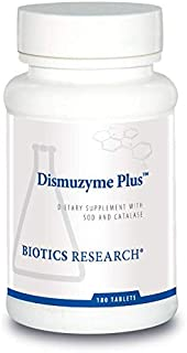 Biotics Research Dismuzyme Plus™ – High Antioxidant Activity, Supports Immune System, Healthy Inflammatory Response. 180 Tablets.
