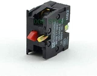 WuLian 10pcs TELEMECANIQUE ZB2-BE101C NO ZB2-BE102C NC Contact Block Replaces Tele 10A 400V
