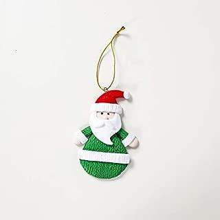 Best Design 1pcs 10 6cm Santa Snowman Polymer Clay Christmas Tree Pendants Ornament, Handmade Clay Jewelry - Christmas China, One of A Kind Art, Handmade Christmas Earrings, Christmas Toy