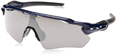 Oakley Men's OO9208 Radar EV Path Shield Sunglasses, Navy/Prizm Black, 38 mm