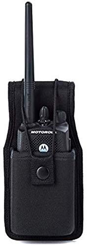 Luion - Funda universal para Walkie Talkies (nailon, accesorios para Motorola MT500, MT1000, MTS2000 y modelos similares de 1 unidad)