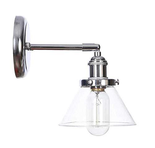 HMKJ Lámpara LED Modern Wall Sconence Estilo nórdico LED Lámpara de Pared Interruptor Dormitorio Espejo Escalera Luz ámbar Metal Metal Moderno Moderno DE LA Pared DE LA INGRESA (Color : G)
