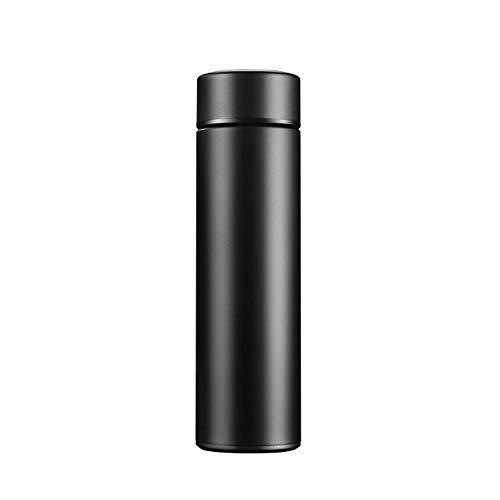 LRHD Bottiglia di vuoto tazza isolata di acqua, tazza di corsa dell'acciaio inossidabile tazza di caffè Ufficio da auto e tempo libero - Mensa Borraccia bottiglia d'acqua for lo Yoga, ginnastica e spo