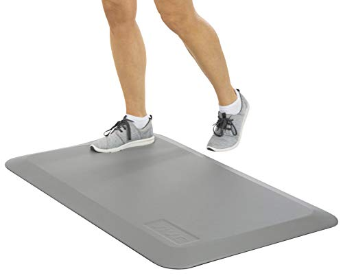 Vive Anti Fatigue Standing Mat - Foot Support for Desk, Office & Home Kitchen Workstation - Ergonomic Comfort Thick Waterproof Pad - Non Slip Bottom, Bevelled Edge - Cushion 24' x 36'