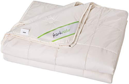 franknatur Bettdecke 4 Jahreszeiten Lyocell Tencel Baumwolle KBA Bio 155x220