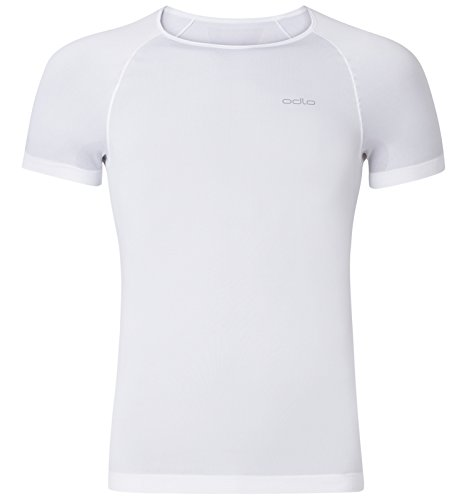 Odlo Evolution X-Light T-Shirt Homme, Blanc, FR : M (Taille Fabricant : M)
