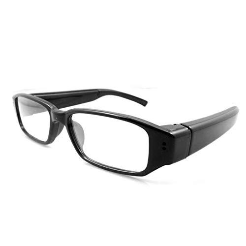 SANON Cámara de Acción para Deportes Al Aire Libre 720P Mini Cámara Video Grabadora de Audio Gafas Portátiles Portátiles Videocámara Dv Eyewear para Deportes Y Actividades Al Aire Libre