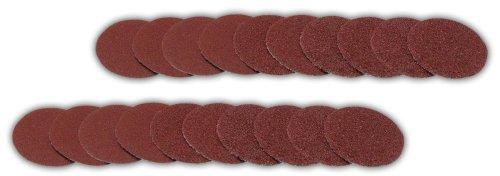 Bausch 1622-23-20 Schleifscheiben für Hornhautschleifer, 20 teilig