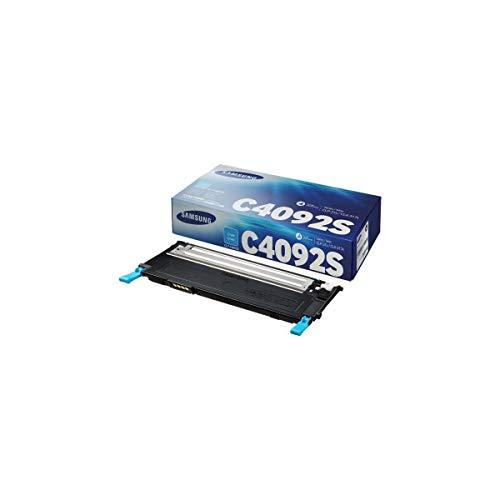 Samsung CLT-C4092S/ELS Original Toner (Kompatibel mit: CLP-310/CLP-315/CLX-3170/CLX-3175 Series) cyan