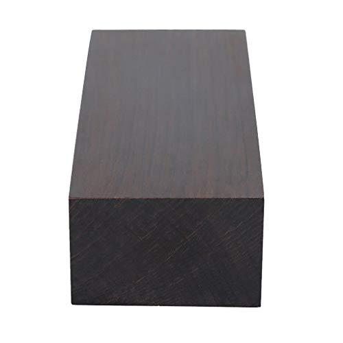 Schwarz Ebenholz Ebony Holz Block für Gitarren Musikinstrumente Holzgriff DIY 120x40x25mm