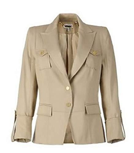 Mooie blazer van Apart in de kleur beige maat 36.