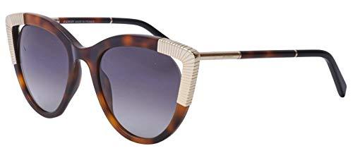 Balmain Sonnenbrille BL2123-2-53 Gafas de sol, Marrón (Braun), 53.0 para Mujer