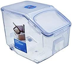 LOCK & LOCK Easy Essentials Food Lids (Flip-Top) / Pantry Storage, BPA Free, Top-50.7 Cup-for Rice, Clear