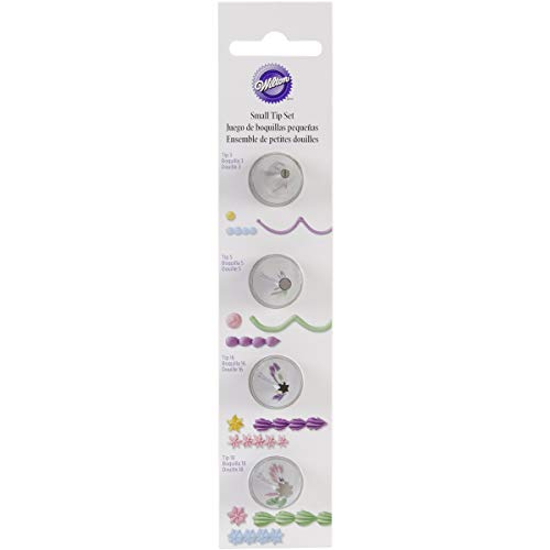 Wilton Round Star Icing Tip Set, Small