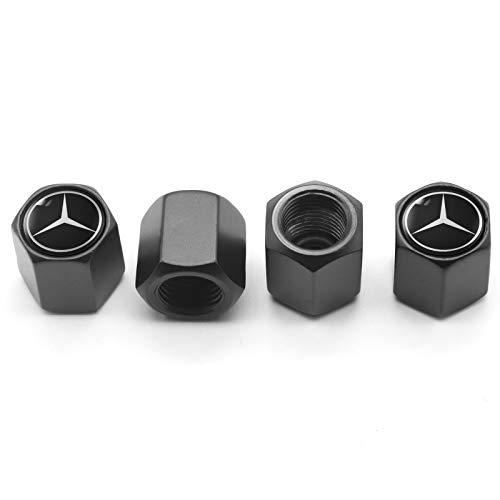 JIEOU Tire Valve Stem Caps for Benz…