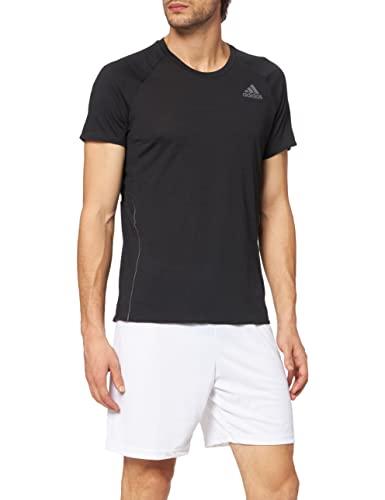 Adidas Męska bluzka Adi Runner, czarna, S