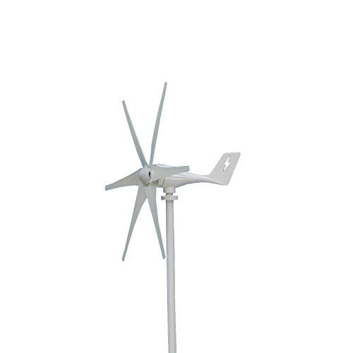 FDGBCF 3000W 12V 24 Volt Wind Turbines+Controller 6 Blade Horizontal Home Wind Generator Powers Windmill Energy Turbines Charge,24V