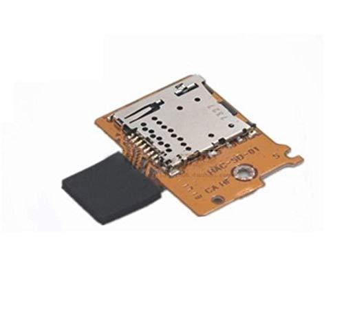 YuYue Pieza de reparación de reemplazo de Ranura de Tarjeta SD Micro TF para Nintendo Switch NS NX Console 2017