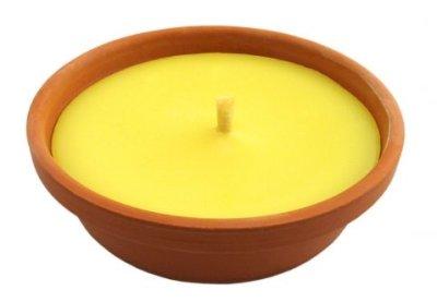 Fiaccola/Candela profumata all'aroma di Citronella diametro 15cm
