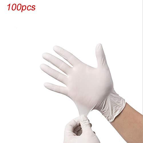 N/A Einweghandschuhe, 100 PC/Box Lebensmittelhandhabung Einweghandschuhe, Für Reinigung, Kochen, Haare Färben, Abwasch, Den Umgang Mit Lebensmitteln,XL