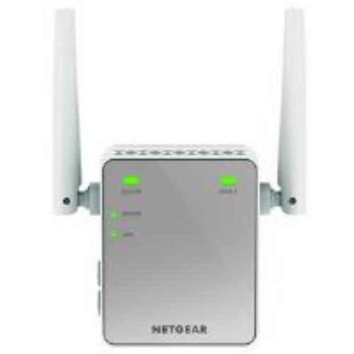 Netgear EX2700 Network Repeater weiß – Netzwerkverlängerung (Network Repeater, 300 Mbit/s, 10/100Base-T(X), 802.11b, 802.11g, WLAN 4 (802.11n), 300 Mbit/s, 2,4 GHz)